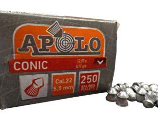 Balin Apolo Cal 22 5.5 Mm Conic X 250 U.