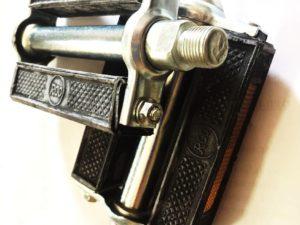 Pedales Bicicleta Goma Inglesa Import. Vintage Rosca Gruesa