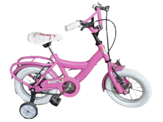 Bicicleta Rod. 12 Dama Rueda C/rayos Cuad Oversize Equipada