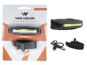 Luces Van Halen Delantera Usb 130 Lumen C/sop. Van800