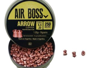 Balines Air Boss Cal5.5 Arrow Copper X 250 Unid. Alta Gama